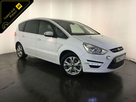 2013 63 FORD S-MAX TITANIUM TDCI DIESEL MPV 7 SEATER FINANCE PX WELCOME