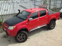 2006 TOYOTA HILUX D/C 2.5 D4-D INVINCIBLE MANUAL 4X4 RED ** ONE OF A KIND!!!! **