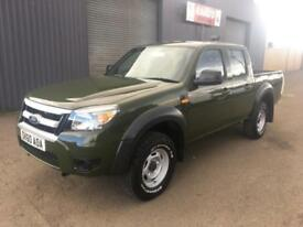 2010 (60) Ford Ranger 2.5 TDCi Double Cab *Forestry * 5 SEATER *