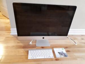 "27"" 2009 Apple iMac for sale, $500"
