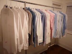 "Mens Dress Shirts 17"" Neck, 32/33"" Sleeves, qty 25 in Total"
