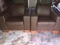 Luxury Leather Armchairs