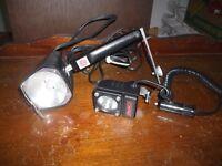2 Vintage Camera Lights