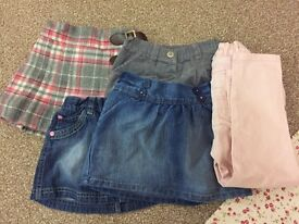 Girls aged 1.5-2 years clothes bundle