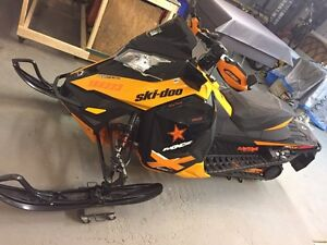 Skidoo mxz 800 etec with X package