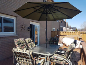 ALUMINUM PATIO SET