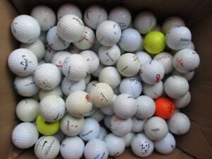 100  UGLY PRACTICE GOLF BALLS
