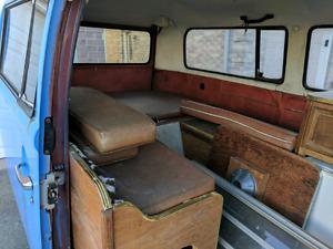 Volkswagen Bus (Type 2 Camper) Interior