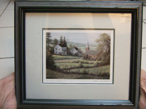 """Bill Saunders  """"Summer Shadows,by Bill Saunders signed,p2,1295"""