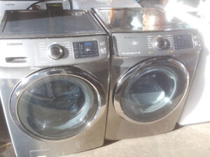 Samsung Steam Front Load Washer and Dryer *Almost New*