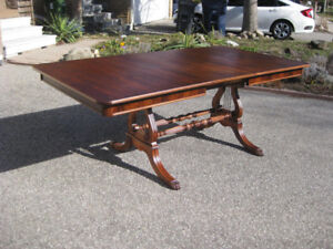 Stunning Restored Antique Mahogany Table, Chairs, Sideboard