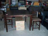 Brand New 7 Piece Pub Table - Delivery Available