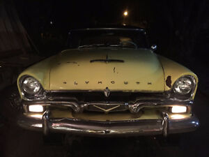 Wanted: parts for 1955-56 Plymouth