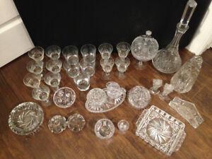 Verrerie et vaisselle en cristal Pinwheel