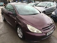 Peugeot 307 CC 2.0 16v 2dr LEATHER-STUNNING CONDITION