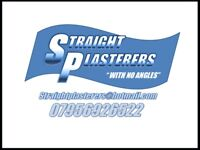 Plastering service in and around London.