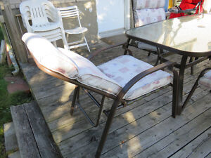 Beautiful Patio Set, 6 reclining chairs West Island Greater Montréal image 5