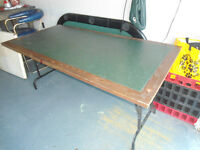 36inch x 70inch Heavy Wooden Table