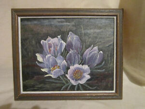 Original Painting Framed & Initialed by Artist