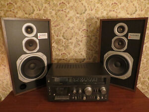 Vintage/Rertro  Reciever and Speakers