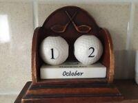 Golf perpetual calendar