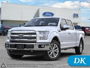 2015 Ford F-150 Lariat LWB, 502A Ecoboost, Fully Loaded!