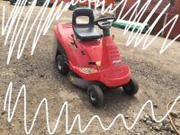 Honda petrol ride on lawn mower hydrostatic
