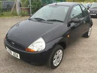 2009 Ford Ka 1.3 Studio 3 DOOR, ONE FAMILY OWNER FROM NEW IN BLACK