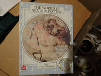 BEATRIX POTTER  jigsaw, good  for child, larger pieces