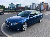 2005 55 AUDI A4 S LINE 2.0 TDI 140 VERY CLEAN CAR FULL SERVICE HISTORY LOW MILES