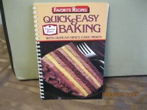 FAVORITE   RECIPES   QUICK & EASY   DUNCAN  HINES BAKING