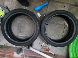 Goodyear Eagle F1 225 40 18 Asymmetric 5 Part Worn Tyres R18 x2 Pair