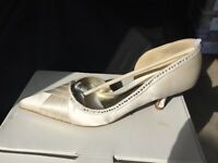 Next Cherished Wedding shoes - 4 1/2 size - worn once!