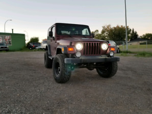 2003 Jeep TJ 4x4 Manual