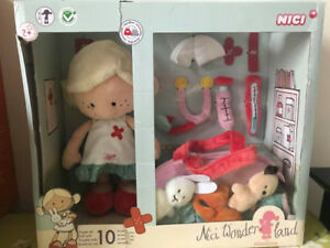 MiniLina the Veterinarian Doll Set by Nici Wonderland NEW!!!