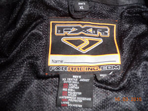 FXR Motorcycle jacket, men's XL Kitchener / Waterloo Kitchener Area image 3