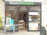 Wonderful Organic Retail Shop Located on Busy Road Hackney