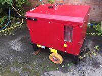 Gen-set diesel generator silent 5 kva 240v/110v (no vat ) 2015