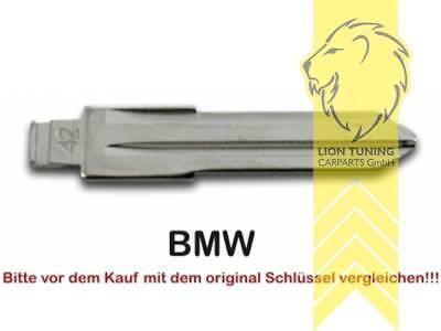 Schlüsselrohlinge für Klappschlüssel ZV für BMW E21 E30 E36 E28 E34