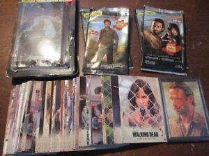 The Walking Dead Trading Cards Lot