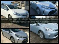 2015 Toyota PRIUS+ 1.8 Hybrid 7 Seats New Shape MPV Petrol/Electric Hybrid Autom