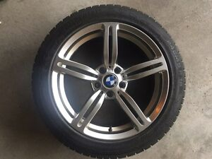 2004-2010 BMW e64 650i WINTER SNOW wheels and tires