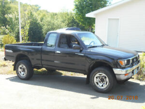Toyota Tacoma With Plow