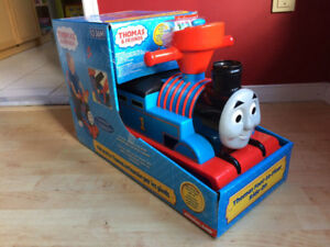 Thomas Ride-On Train - Popping  Chimney & Music, Like New in Box