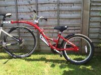 Weeride Propilot Folding Aluminium Trailer Bike