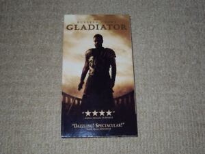 GLADIATOR, VHS MOVIE, EXCELLENT CONDITION