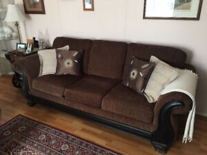 Beautiful spotless couch