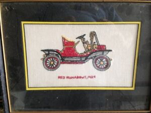 Vintage Cars Cross Stitch Pictures Kingston Kingston Area image 5