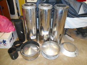 """FOR SALE:  7"""" I.D.  INSULATED SELKIRK CHIMNEY"""