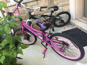 2 kids bike for 40 each!**Good condition